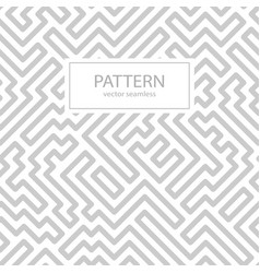 striped seamless geometric pattern vector image
