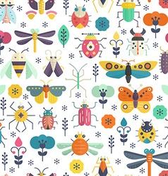 Bug Pattern vector image
