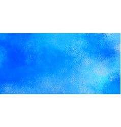 abstract background watercolor in blue color vector image