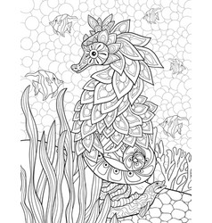 Seahorse | Free Printable Templates & Coloring Pages ... | 250x238