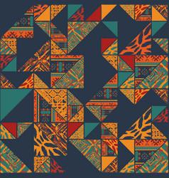 boho abstarct wallpaper vector image