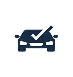 Check automotive logo icon design vector