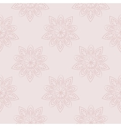 Florish background in pastel tones vector image