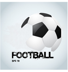 football text football white background ima vector image