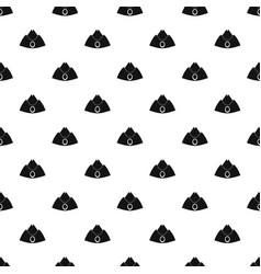 Forage cap pattern vector