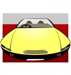 future car vector image