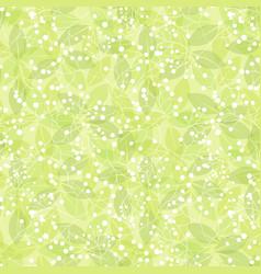 green leaf spring wallpaper elegant fresh foliage vector image