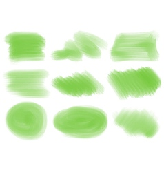 Green textures and patterns vector