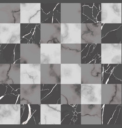 marble check seamless pattern luxury vector image