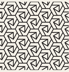 Seamless lines pattern modern stylish vector