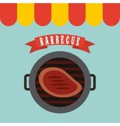 barbecue grill design vector image vector image