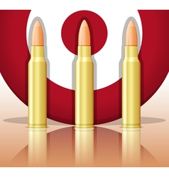 Bullets and target vector