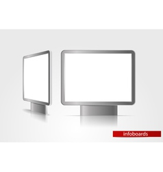 Advertising boards vector image