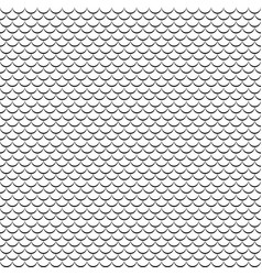 geometric fish scales chinese seamless vector image vector image