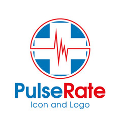 pulse rate vector image vector image