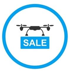 Nanocopter Sale Icon vector image