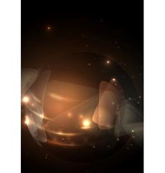 Sphere Glass Ball vector image