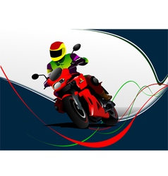 al 0732 moto 02 vector image