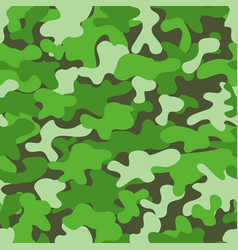 Camouflage pattern design element for poster vector