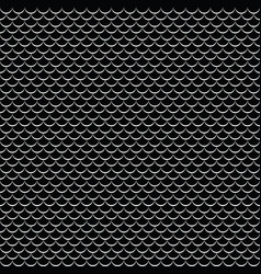 Geometric fish scales chinese seamless vector
