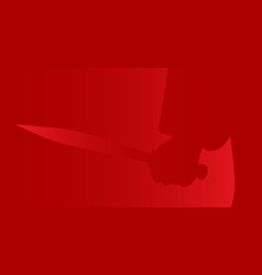 killers knife vector image