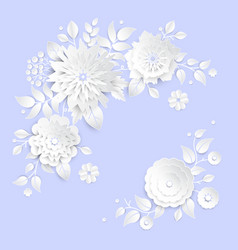 Paper cutting vector images over 44000 paper cut flowers modern colorful vector mightylinksfo