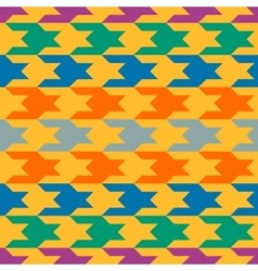 Abstract pattern with colorful figures vector image vector image