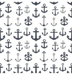 Anchors seamless background vector image