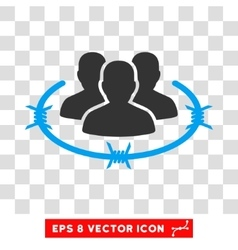 Strict Management Eps Icon vector image vector image