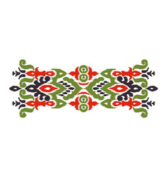 Abstract ethnic style vector