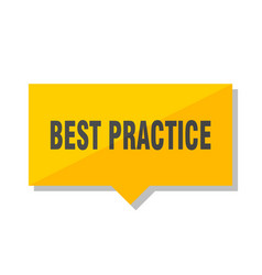Best practice price tag vector