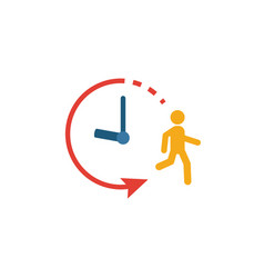 Endurance icon simple flat element from fitness vector
