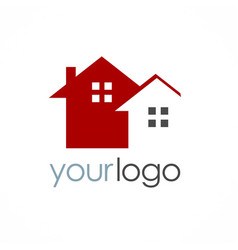 house realty business logo vector image