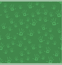 Human hands seamless pattern vector