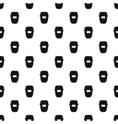 Mask of welder pattern simple style vector