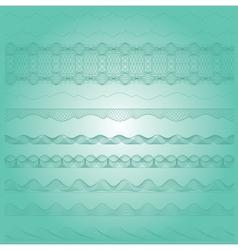 Ornamental guilloche seamless pattern vector