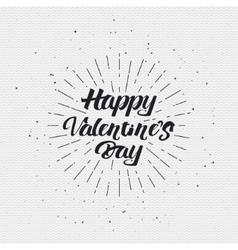 Valentines day - calligraphy typography badge It vector