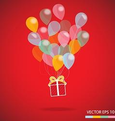 gift box carnival vector image vector image