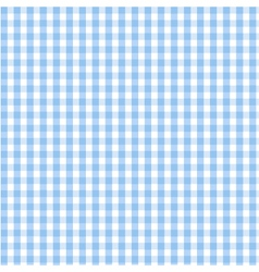 seamless blue plaid pattern vector image vector image