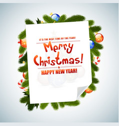 Christmas Messages vector image vector image