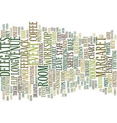 Event etiquette text background word cloud concept vector