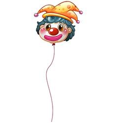 A clown balloon vector