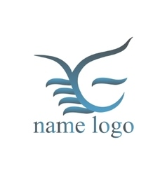 logo for web design vector image