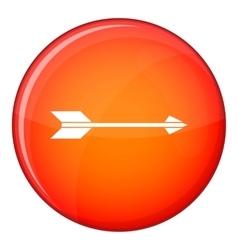 Long arrow icon flat style vector