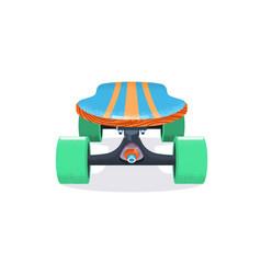skateboard deck flat hand vector image