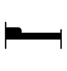 hotel bed icon simple minimal 96x96 pictogram vector image