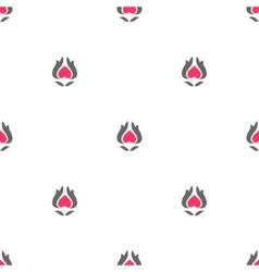 Seamless pattern gray pink vector