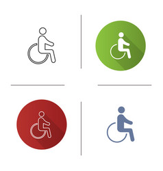 Accessible icon vector