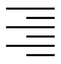 alignment vector image