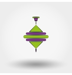 Baby toys whirligig vector